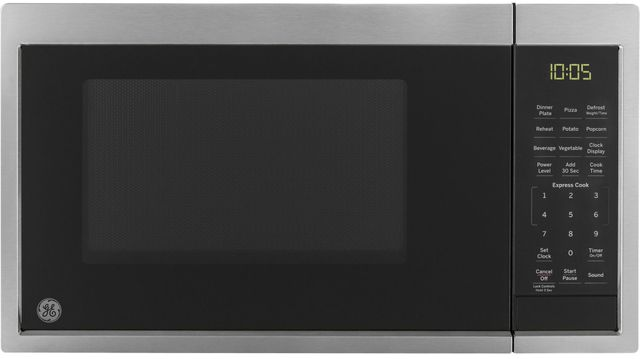GE® Countertop Microwave-Stainless Steel-JES1095SMSS