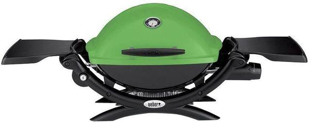 """Weber® Q® 1200™ 40.9"""" Green Gas Grill-51070001"""