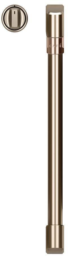 Café™ Brushed Bronze French Door Handles and Knob Kit-CXWSFHKPMBZ
