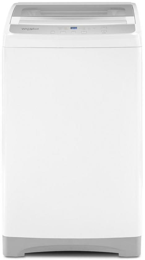 Whirlpool® 1.6 Cu. Ft. White Compact Top Load Washer-WTW2000HW