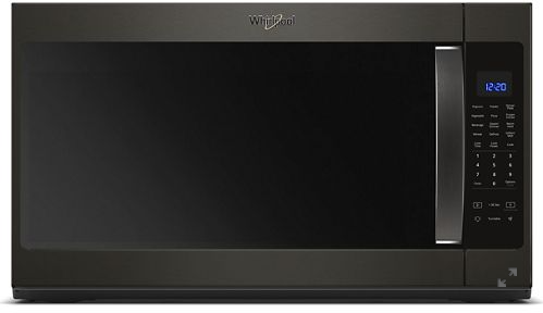 Whirlpool® 2.1 Cu. Ft. Black Stainless Over The Range Microwave-YWMH53521HV