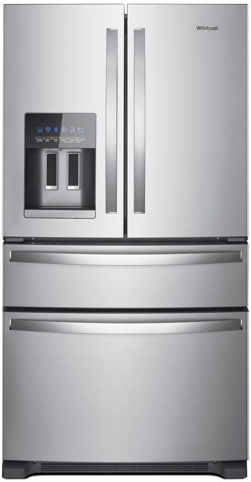 Whirlpool® 25 Cu. Ft. French Door Refrigerator-Fingerprint Resistant Stainless Steel-WRX735SDHZ