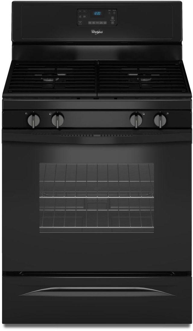 "Whirlpool® 30"" Freestanding Gas Range-Black-WFG515S0EB"
