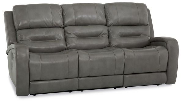 Palliser® Furniture Washington Gray Power Sofa Recliner-41067-61