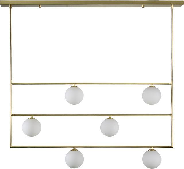 Renwil® Boisi Satin Brass Pendant Light-LPC4370