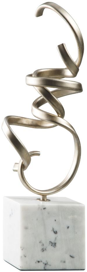 Signature Design by Ashley® Pallaton Champagne/White Sculpture-A2000125