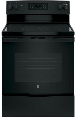 "GE® 30"" Free Standing Electric Range-Black-JBS60DKBB"