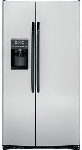 Hotpoint 25.4 Cu Ft. Side-by-Side Refrigerator-Stainless Steel-HSS25ASHSS