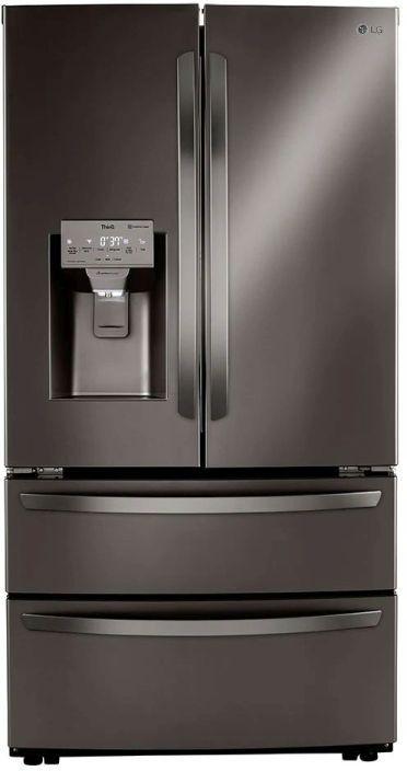 LG 27.8 Cu. Ft. Black Stainless Steel French Door Refrigerator -LRMXS2806D