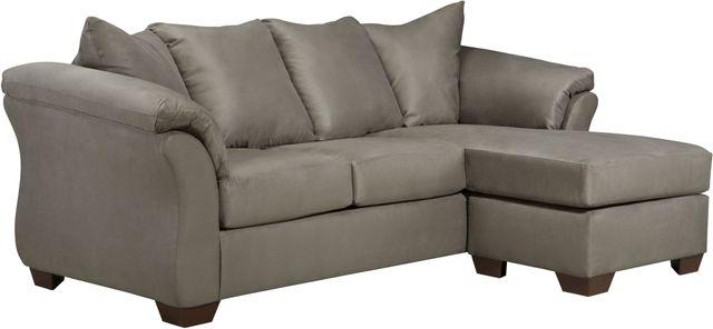 Signature Design by Ashley® Darcy Cobblestone Sofa Chaise-7500518