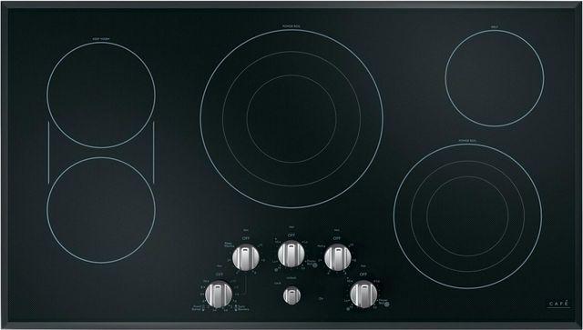 """Café™ 36"""" Black Electric Cooktop-CEP70362MS1"""