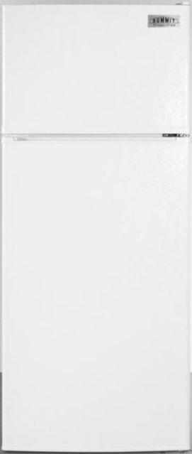 Summit® 10.3 Cu. Ft. Top Freezer Refrigerator-White-FF1118W