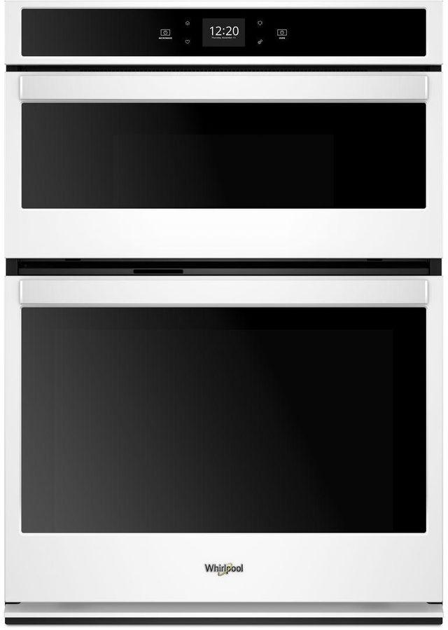 "Whirlpool® 27"" White Smart Combination Wall Oven-WOC54EC7HW"