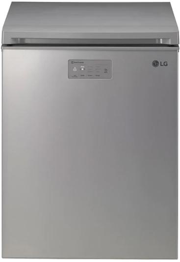 LG 4.5 cu.ft. Platinum Silver Kimchi/Specialty Food Refrigerator Chest-LRKNC0505V