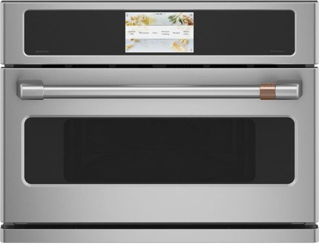 """Café™ 26.75"""" Stainless Steel Electric Oven/Micro Combo Built In-CSB912P2NS1"""