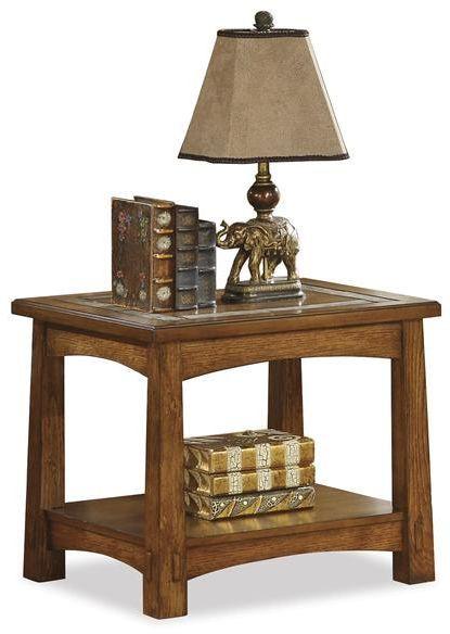 Riverside Furniture Craftsman Home Side Table-2909