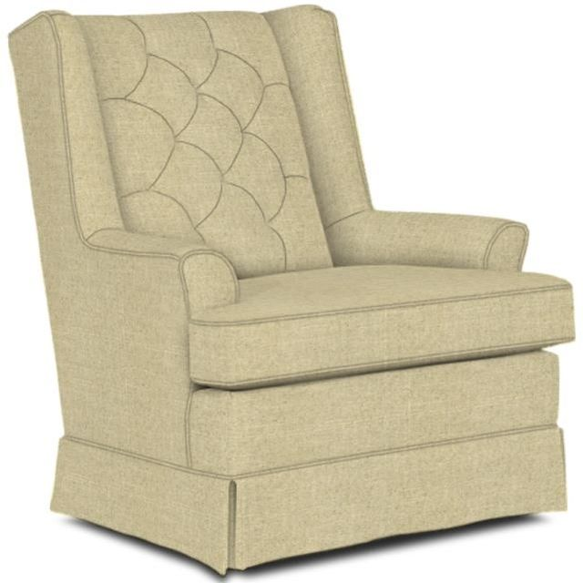 Best Home Furnishings® Nikole Natural Swivel Glider-7167-29419