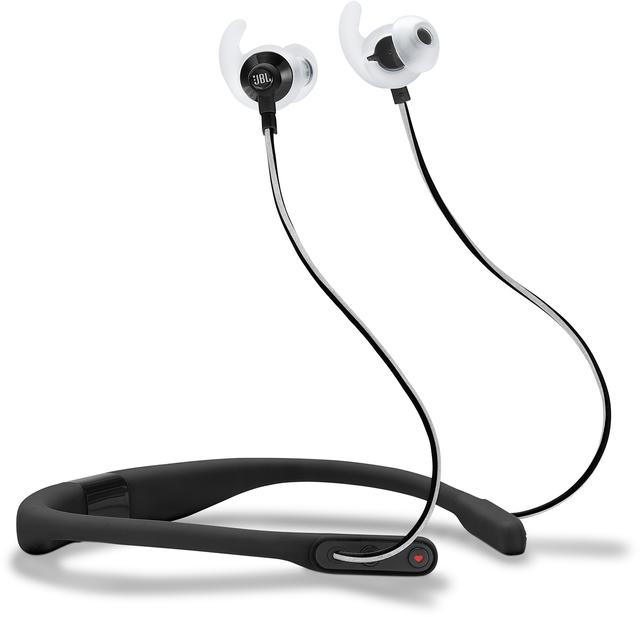 JBL® Reflect Fit Heart Rate Wireless Headphones-Black-JBLREFFITBLK