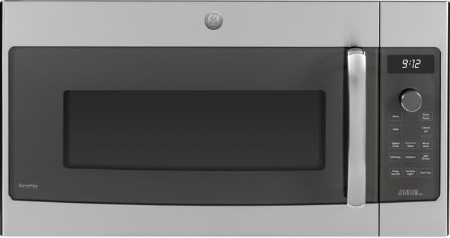 GE® Profile™ Series 1.7 Cu. Ft. Stainless Steel Over The Range Microwave-PSA9120SFSS-19-5544
