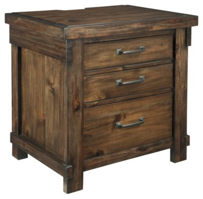 Signature Design by Ashley® Lakeleigh Brown Nightstand-B718-93