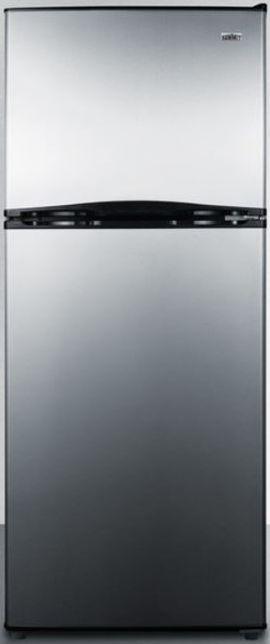 Summit® 9.9 Cu. Ft. Top Freezer Refrigerator-Stainless Steel-FF1085SSIM