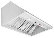 """Capital Performance 30"""" Stainless Steel Wall Mounted Ventilation Hood-PSVH30"""