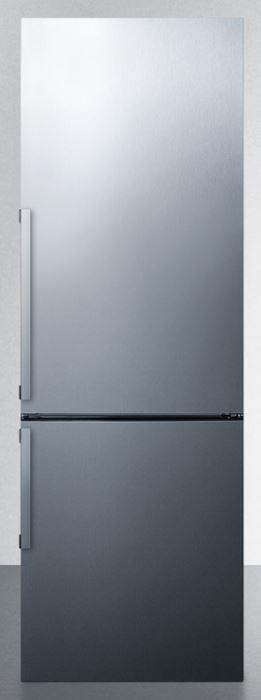 Summit® 11.35 Cu. Ft. Bottom Freezer Refrigerator-Stainless Steel-FFBF246SS