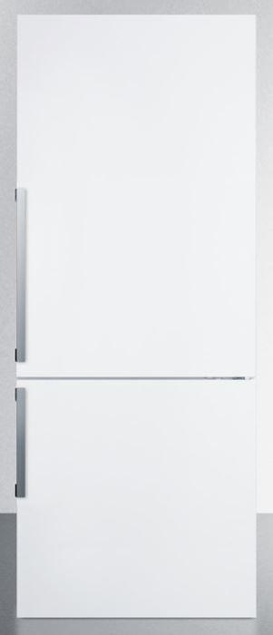 Summit® 16.8 Cu. Ft. Bottom Freezer Refrigerator-White-FFBF281W
