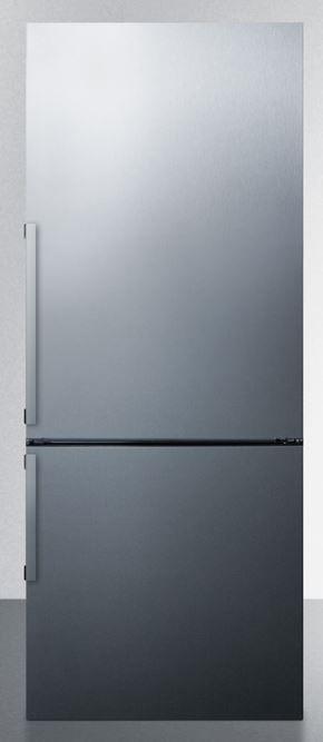 Summit® 16.8 Cu. Ft. Bottom Freezer Refrigerator-Stainless Steel-FFBF286SS
