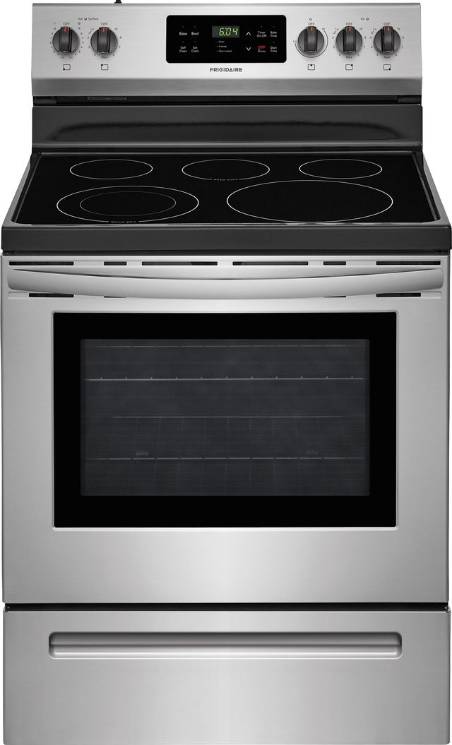 """Frigidaire® 30"""" Stainless Steel Free Standing Electric Range-FFEF3054TS"""