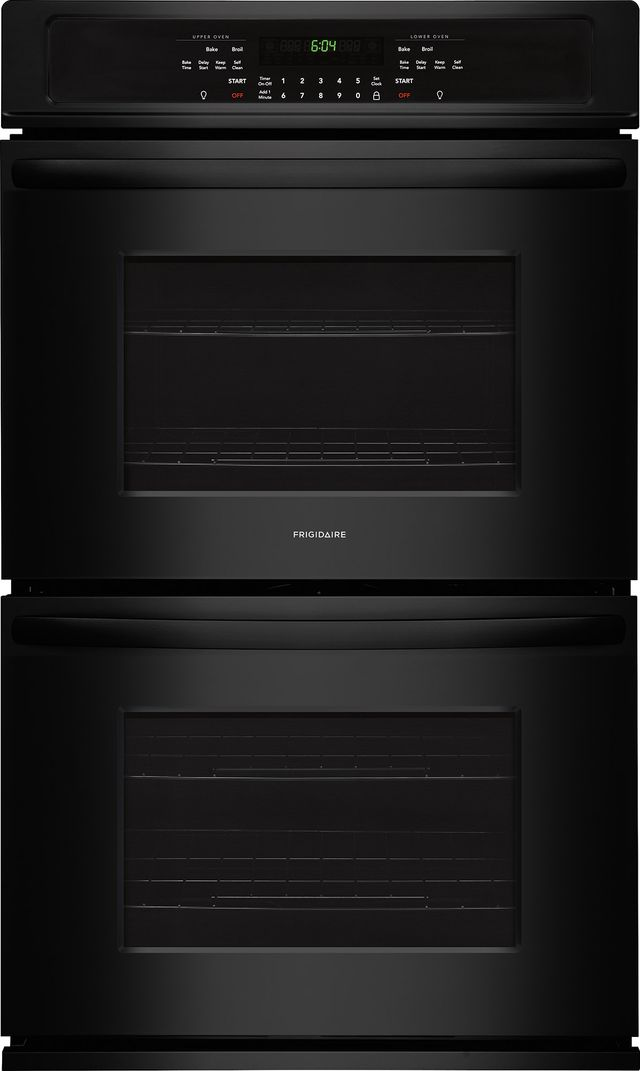 """Frigidaire® 27"""" Black Electric Double Oven Built In-FFET2726TB"""