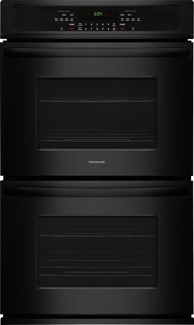 """Frigidaire® 30"""" Black Electric Double Oven Built In-FFET3026TB"""