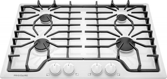 "Frigidaire® 30"" White Gas Cooktop-FFGC3026SW"