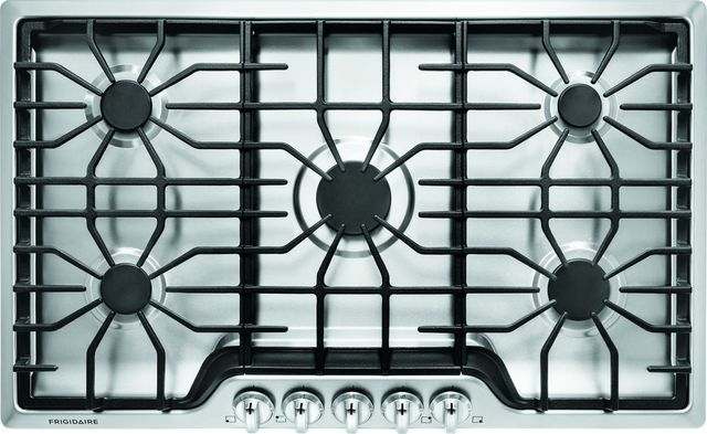 """Frigidaire® 36"""" Stainless Steel Gas Cooktop-FFGC3626SS"""