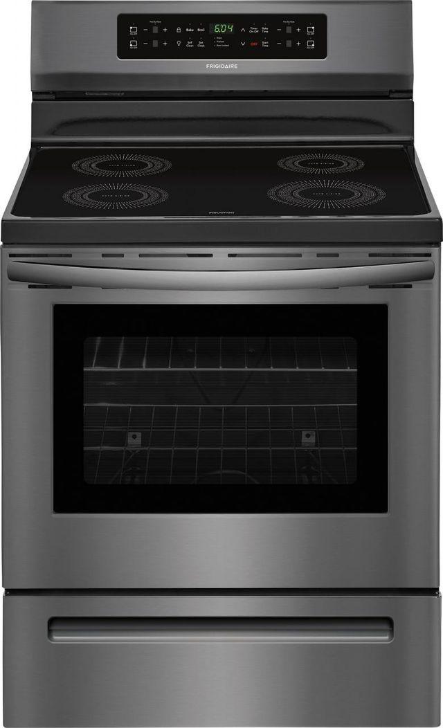 "Frigidaire® 29.88"" Black Stainless Steel Free Standing Induction Range-FFIF3054TD"