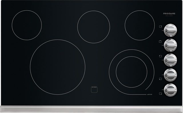 """Frigidaire Gallery® 37"""" Stainless Steel Electric Cooktop-FGEC3645PS"""