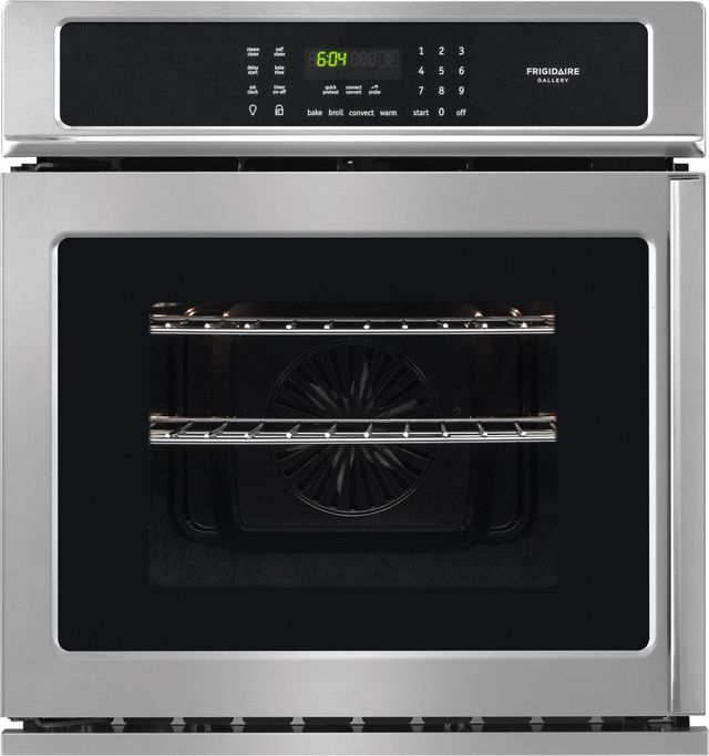 """Frigidaire Gallery® 27"""" Stainless Steel Single Electric Wall Oven-FGEW276SPF"""