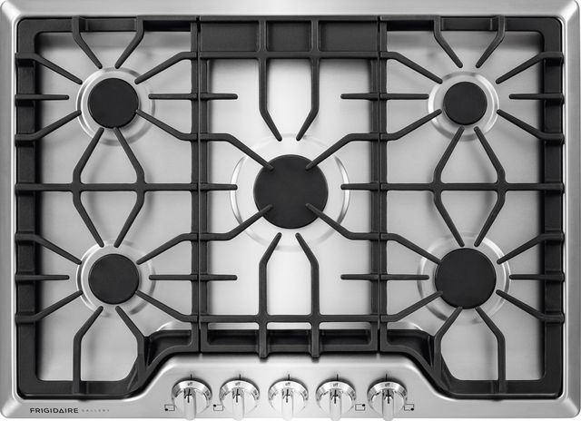 """Frigidaire Gallery® 30"""" Stainless Steel Gas Cooktop-FGGC3047QS"""