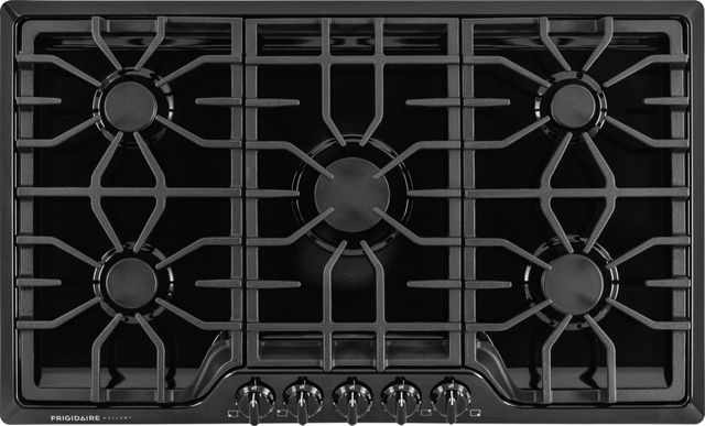 "Frigidaire Gallery® 36"" Black Gas Cooktop-FGGC3645QB"