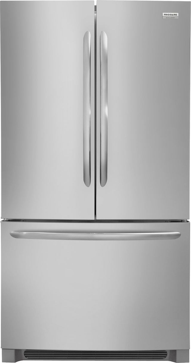 Frigidaire Gallery® 22.4 Cu. Ft. Stainless Steel Counter Depth French Door Refrigerator-FGHG2368TF