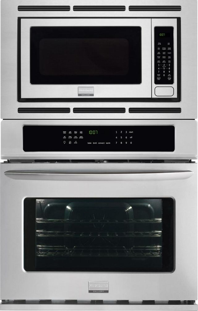 """Frigidaire Gallery® 27"""" Stainless Steel Electric Oven/Micro Combo Built In-FGMC2765PF"""