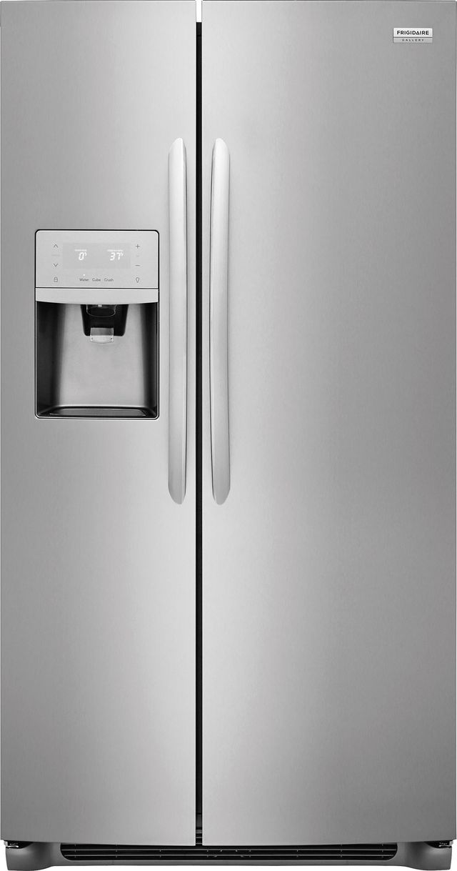Frigidaire Gallery® 25.5 Cu. Ft. Stainless Steel Side-By-Side Refrigerator-FGSS2635TF