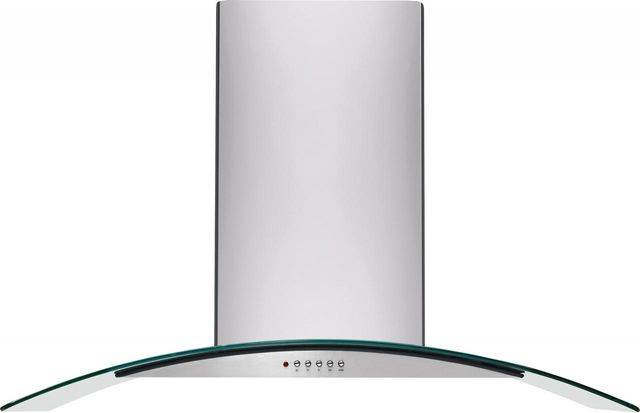"""Frigidaire® 35.34"""" Stainless Steel Glass Canopy Wall Ventilation-FHWC3660LS"""