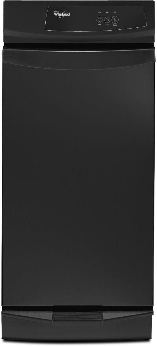 "Whirlpool® 15"" Convertible Trash Compactor-Black-GC900QPPB"