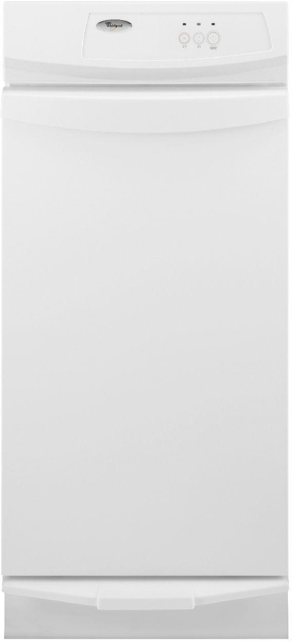 "Whirlpool® 15"" Convertible Trash Compactor-White-GC900QPPQ"