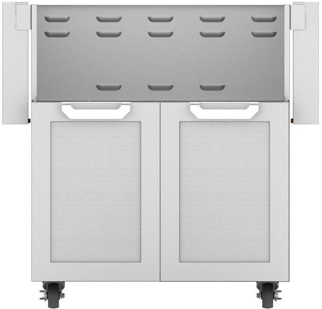 """Hestan Professional 30"""" Outdoor Double Door Tower Cart-Stainless Steel-GCD30"""