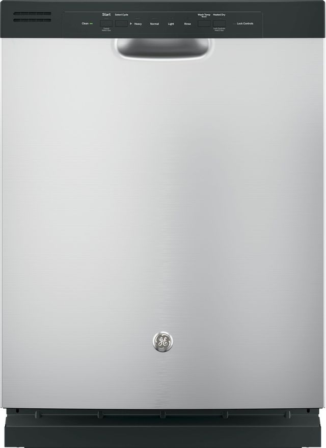 """GE® 24"""" Built-In Dishwasher-Stainless Steel-GDF510PSJSS"""
