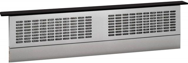 "GE Profile® 36"" Universal Telescopic Downdraft System-Black on Black-UVB36DKBB"