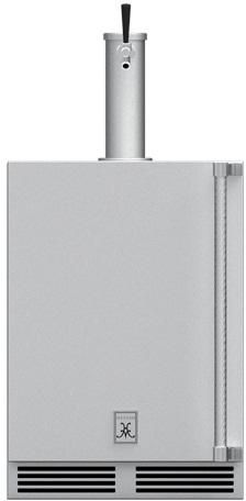 Hestan Professional 5.2 Cu. Ft. Steeletto Outdoor Single Faucet Beer Dispenser-GFDSL241
