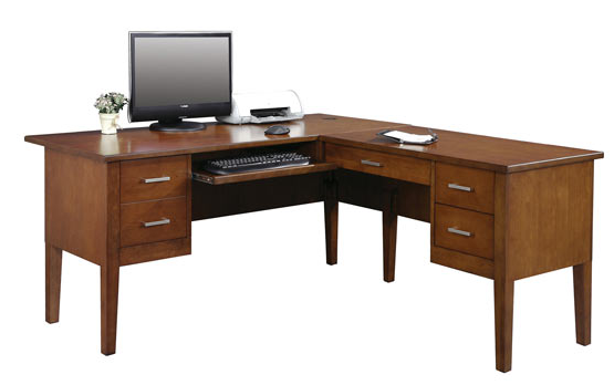 """Winners Only® Home Office Koncept 62"""" Desk with 40"""" Return-GK162R"""